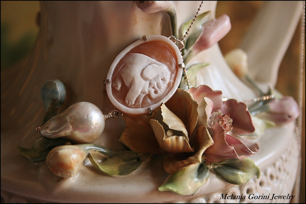 Perle barocche e cammei - Baroque pearls and cameos (3/6)