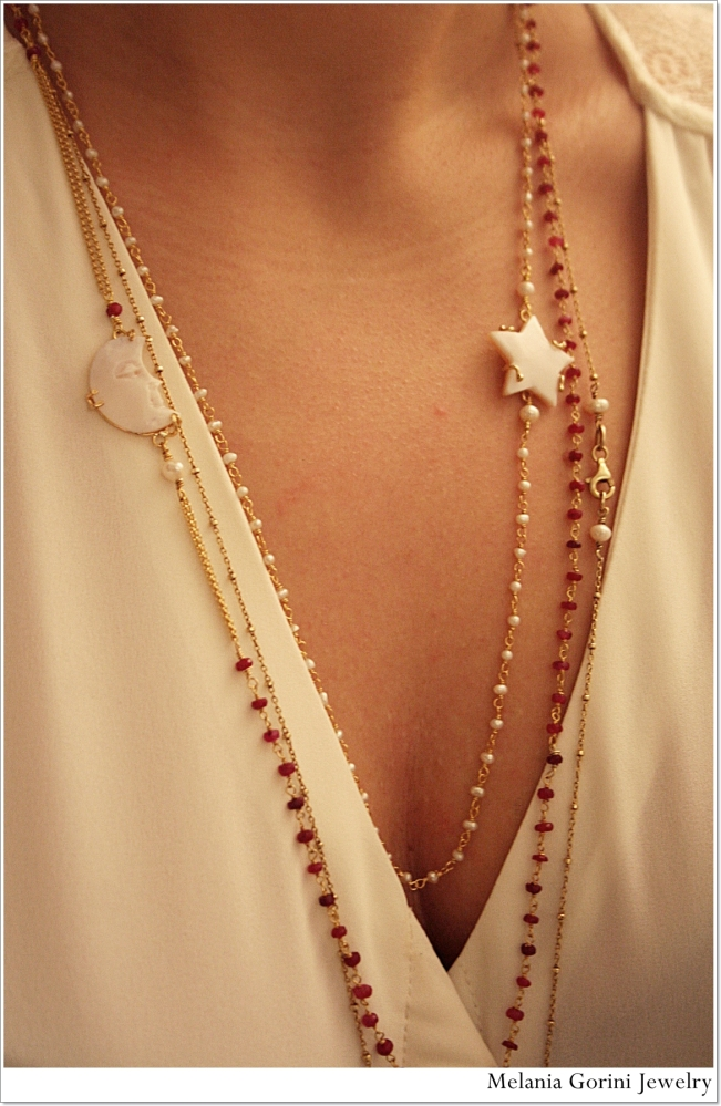 Collane rosario...il trend del momento! The new rosary necklaces! (4/6)
