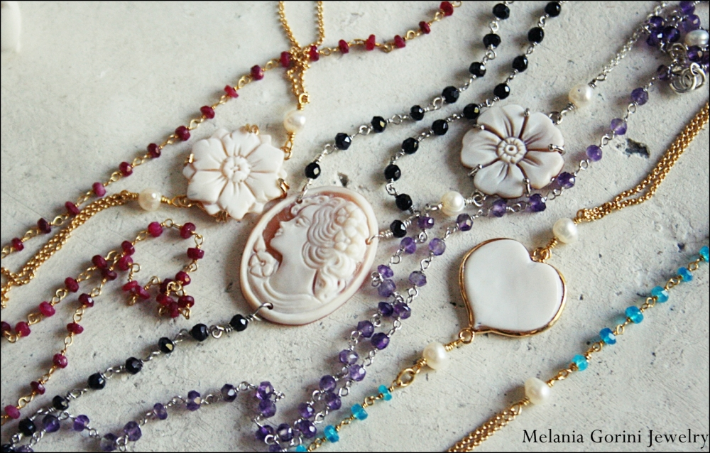 Collane rosario...il trend del momento! The new rosary necklaces! (1/6)